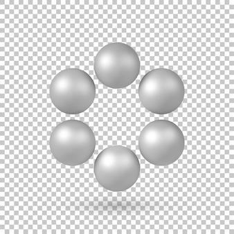 Esferas metálicas