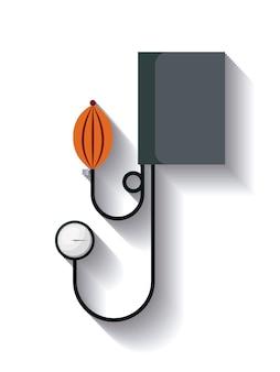 Esfigmomanômetro ícone do design