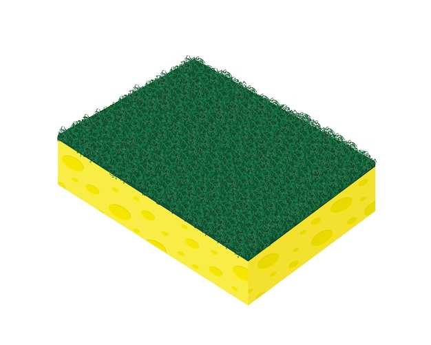 Esfregão esponja esfregão para lavar louça de cozinha e limpeza de banheiro