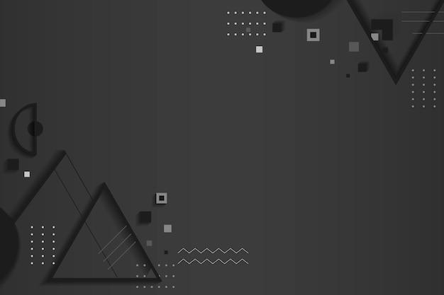 Espaço criativo design geométrico