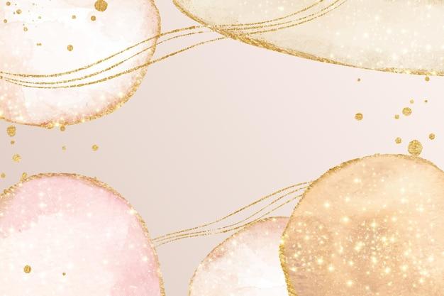 Espaço de cópia abstrato oleoso em rosa claro
