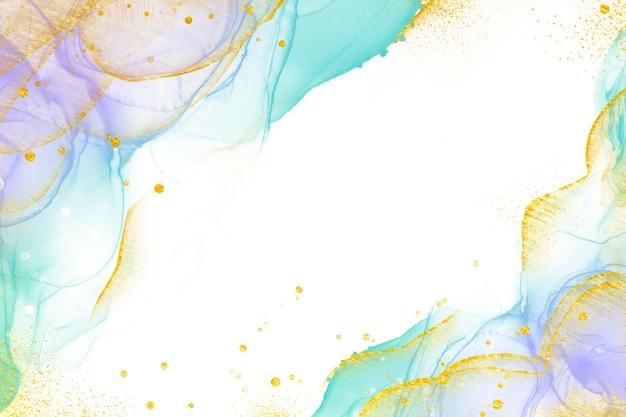 Espaço de cópia de fundo oleoso abstrato