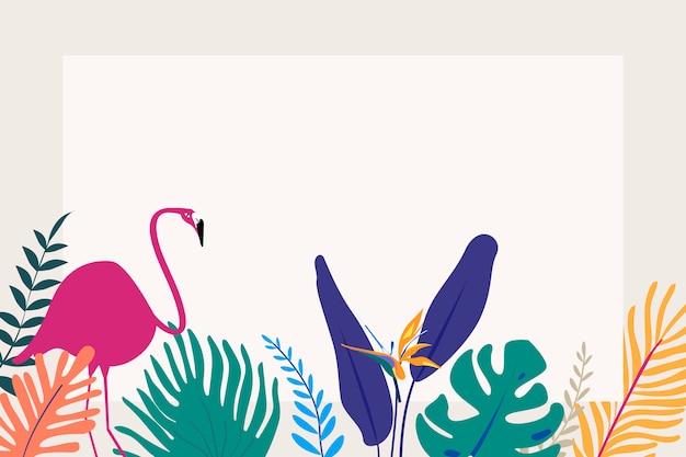 Espaço de design tropical