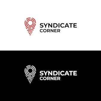 Espaço de sindicato de logotipo para empresa. adequado para sua empresa