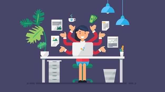 Espaço de trabalho de tecnologia criativa