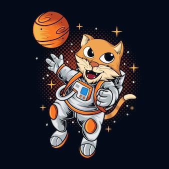 Espaço do gato