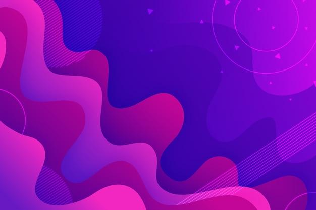Espaço líquido violeta abstrato da cópia