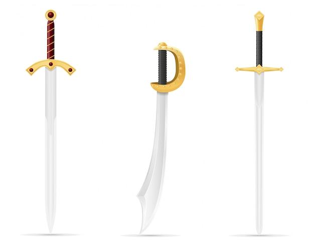 Espada de batalha medieval