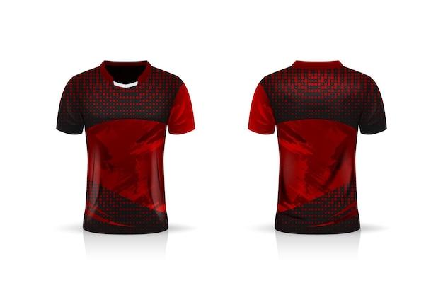 Especificação de maquete de esporte de futebol Vetor Premium