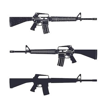 Espingarda de assalto m16, pistola automática de 5,56 mm