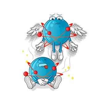 Espírito do átomo deixa o mascote do corpo