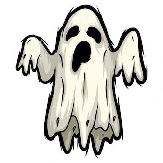 Espírito fantasma de halloween