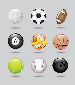 Esporte bolas