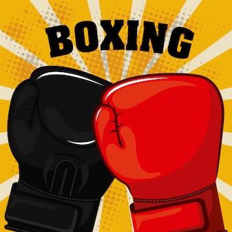 Esporte de boxe