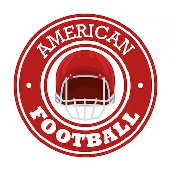 Esporte de futebol americano Vetor grátis