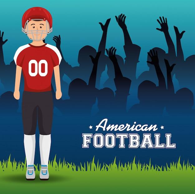 Esporte de futebol americano
