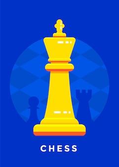 Esporte de jogo de xadrez