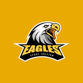 Esporte de logotipo de águia