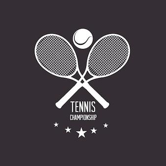 Esporte design, ilustração vetorial.