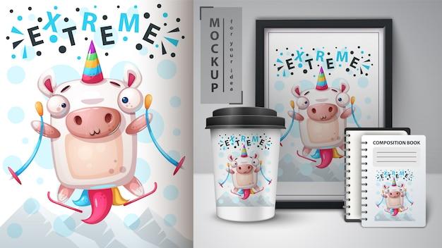 Esporte unicornand merchandising