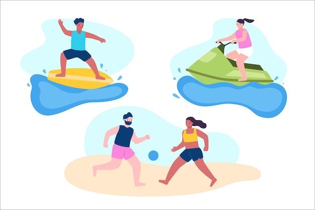 Esportes de verão