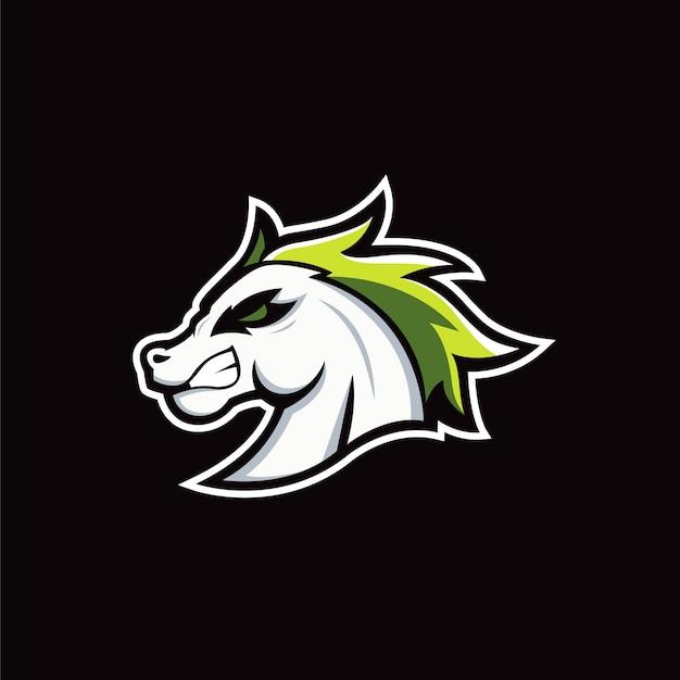 Esports do logotipo do cavalo
