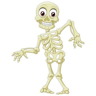 Esqueleto de halloween