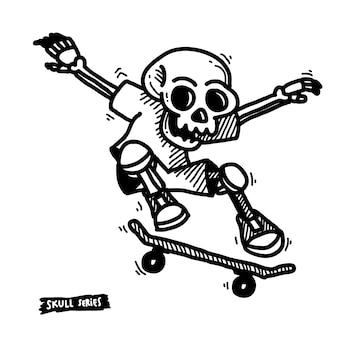 Esqueleto do skater