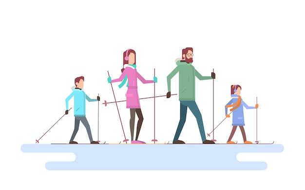 Esqui na grande família