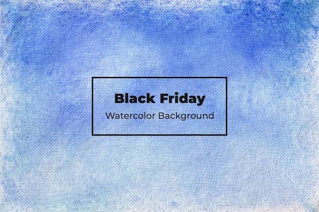 Esta é uma textura de fundo de pincel de sombreamento abstrato black friday watercolor texture