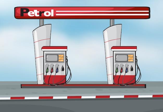 Estação de petróleo