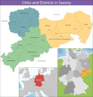 Estado livre da saxônia