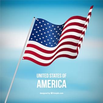 Estados unidos da américa bandeira