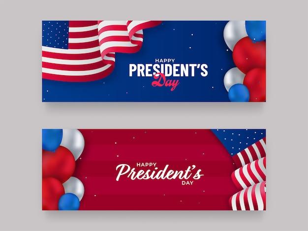 Estados unidos da américa, conceito do dia do presidente