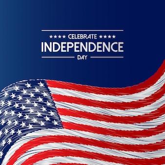 Estados unidos da américa dia da independência, dia dos eua