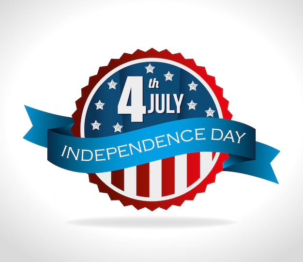 Estados unidos feliz dia da independência, celebração de 4 de julho