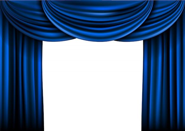 Estágio de cortina de fundo
