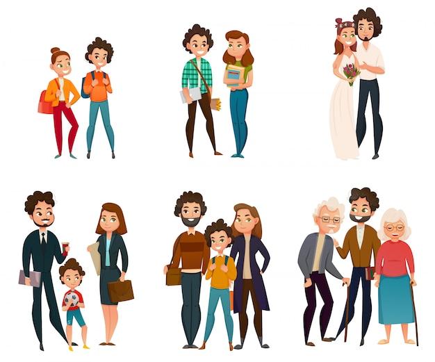 Estágios de desenvolvimento familiar