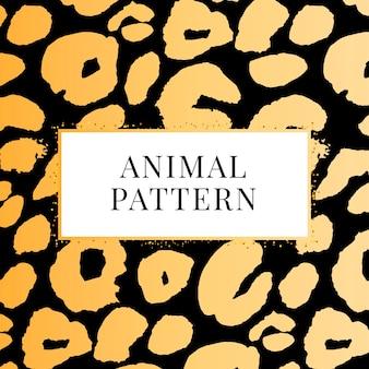 Estampa padrão de leopardo perfeita