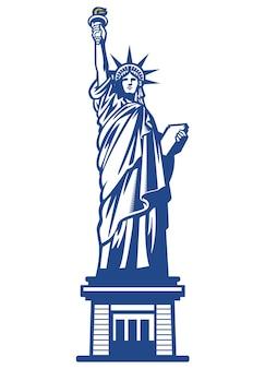 Estátua da liberdade americana