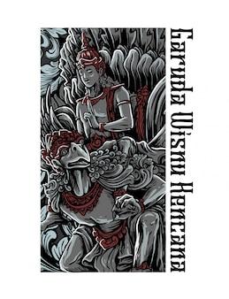 Estátua de mitologia
