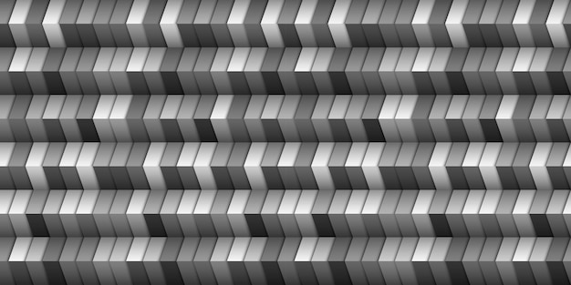 Estilo 3d de fundo geométrico monocromático, ilusão de escada. modelo de design gráfico. ilustração vetorial