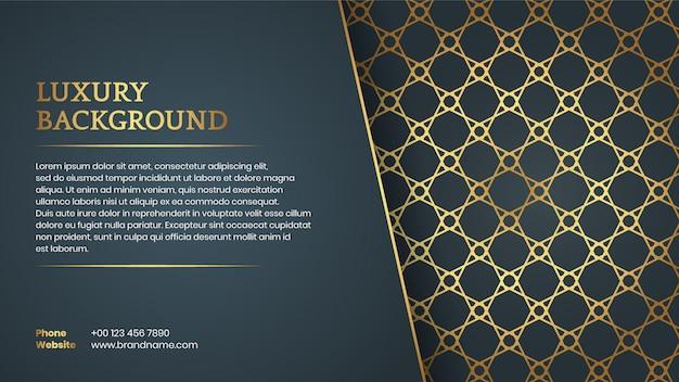 Estilo árabe elegante fundo com espaço para texto