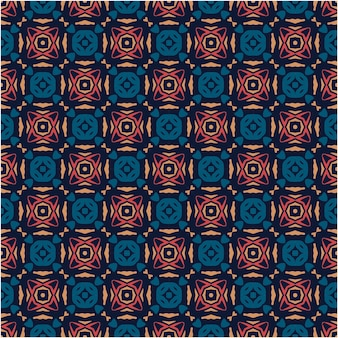 Estilo colorido de padrão abstrato minimalista