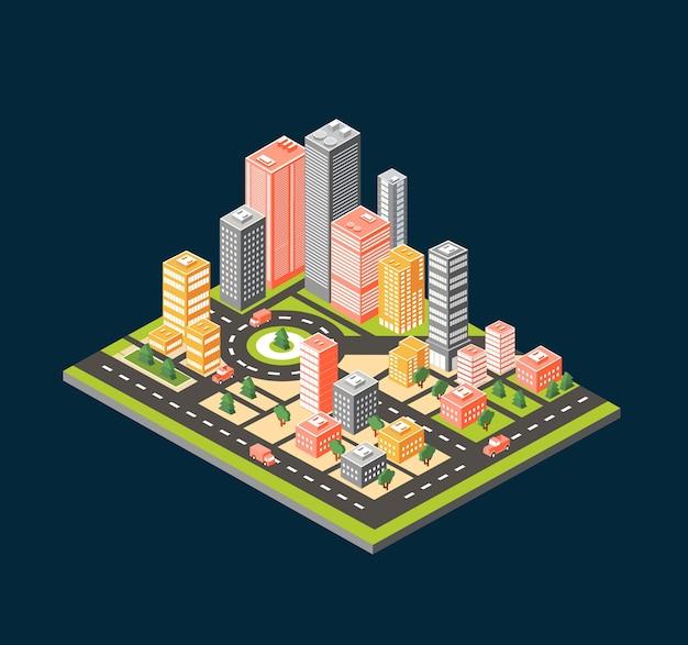 Estilo da cidade plana
