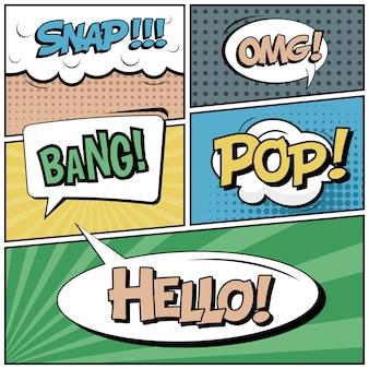 Estilo de arte pop em quadrinhos