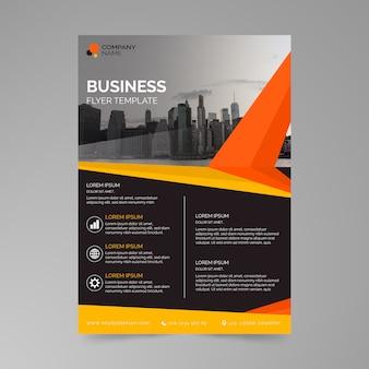 Estilo de cartaz de modelo de negócios