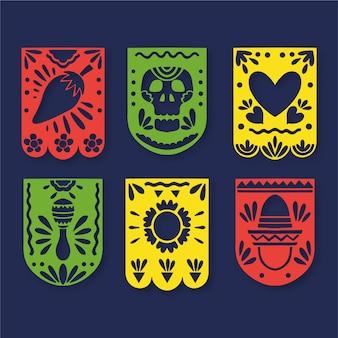 Estilo de coleção de estamenha mexicana
