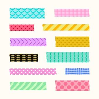 Estilo de coleção de fitas washi