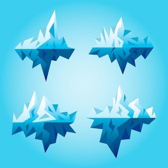 Estilo de coleção iceberg